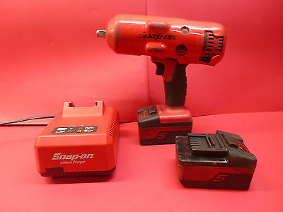 """Snap On 1/2"""" Drive 18V Cordless Impact Wrench Combo"""
