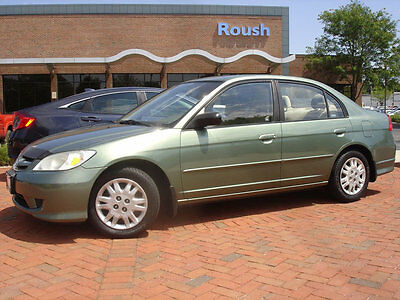 2004 Honda Civic 4dr Sedan LX Manual 5 SPEED MANUAL WITH GOOD TIRES, COLD AIR-CONDITIONING & MORE!
