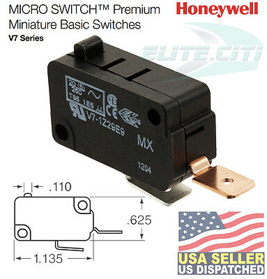 Honeywell Basic / Snap Action Switch 25A @ 250VAC (1 piece) V7-1Z29E9