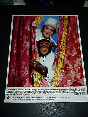 THE ENTERTAINERS, orig 8x10 [from ABC Special w/ Bob Newhart] - 1991