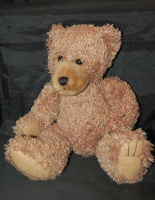 "First Main Scraggles Brown Teddy Bear 11"" Plush Stuffed Animal Lovey Padded Paws"