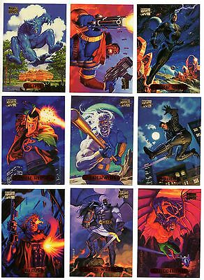 NO LIMIT GOLD SIGNATURE CARDS MARVEL MASTERPIECES  1994 YOUR PICK