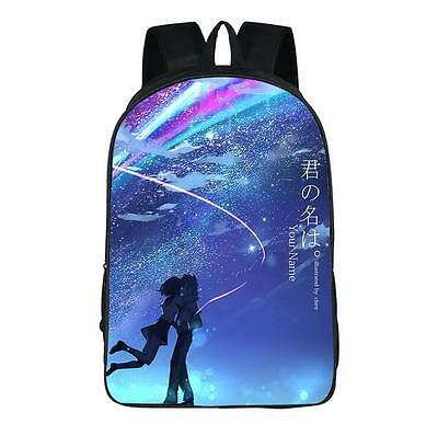 Neu Kimi no Na wa Your Name Rucksack Tasche Backbag Backpack Bag 42x29x16cm