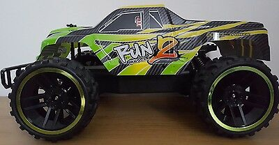 X Large Monster Truck 1:8 Rechargeable Buggy Remote Control Car Fast 45Cm 2.4Ghz
