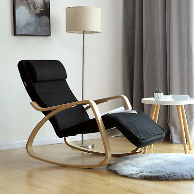 Sedia a dondolo rocking chair poltrona oscillante riposo for Sedie a poltrona