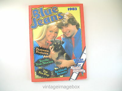 Blue Jeans 1983 Annual vintage 1980s book teenage girls music 80s fashion makeup