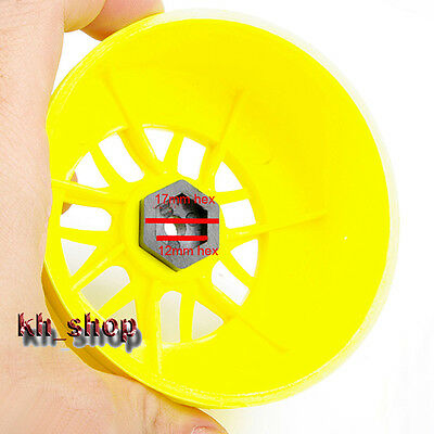 Magic Tyre Rim Hex 17mm to12mm Adapters 1:10 RC CAR TRAXXAS SLASH Short Course