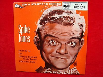 """Spike Jones- No.1 UK 7"""" 45 EP on RCA Records from 1959 TRI EX+"""