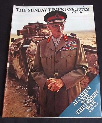 Vintage Magazine: The Sunday Times Sep 10 1967 - Field-Marshal Montgomery