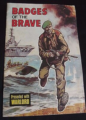 Vintage Comic: Badges of the Brave Booklet from Warlord, D C Thomson 1975