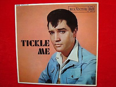 "Elvis Presley- Tickle Me UK 7"" 45 EP on RCA Victor Records from 1965"