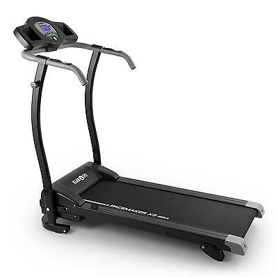 Cinta de Correr 1,5CV LCD REPRODUCTOR MP3 MOVIL PLEGABLE 12 PROGRAMAS NEGRA