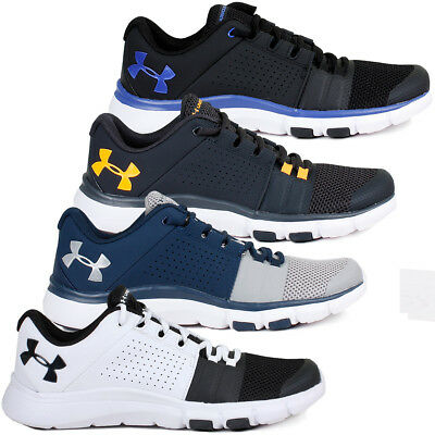 Under Armour Mens UA Strive 7 Trainers Running Training Sports Gym Shoes