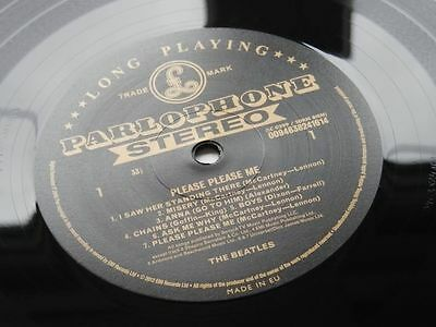 The Beatles Please Please  Me  Uk Lp Stereo Gold