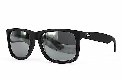 Ray Ban Sonnenbrille / Sunglasses JUSTIN RB4165 622/6G 51 3N + Etui