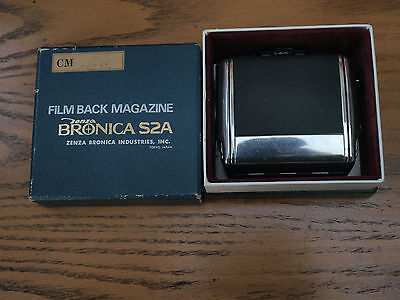 bronica s2 film back boxed ex order