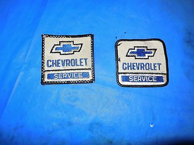 Chevrolet Original Shirt Patches!!! Two Patches All For One Bid!!!!!!!