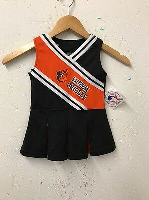 Size 18 Months Major League Baseball Baltimore Orioles BNWT Cheerleader Dress