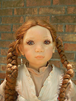 Annette Himstedt doll *Esme* sweet toddler with orig dress-beautiful coloring!