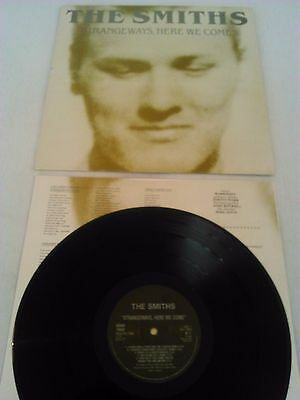 The Smiths - Strangeways Here We Come Lp + Inner!!! Uk 1St Press Rough Trade 106