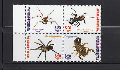 Dominican Republic 2013  Spiders Sc 1534  Mint Never Hinged