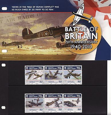 2010 Isle of Man, Battle of Britain, Presentation Pack