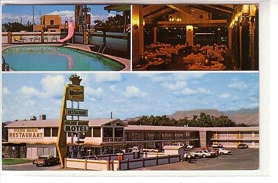 Golden Manor Best Western, Socorro, New Mexico ! Tr-View !