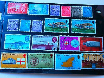 LOT,456. SELLING A COLLECTION  used STAMPS .MANY BARGAINS