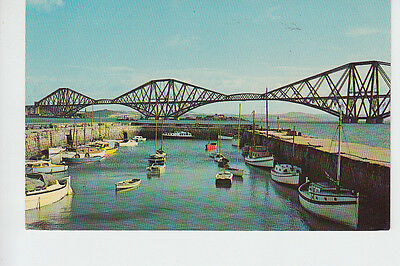 The Forth Bridge & Harbour, South Queensferry, West Lothian