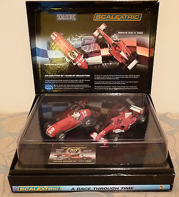 Scalextric C2782A Ferrari F1 Set Ltd Edition