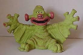 Gilbert The Alien,,get Fresh 80S Laytex  Bendy  Toy,rare Item