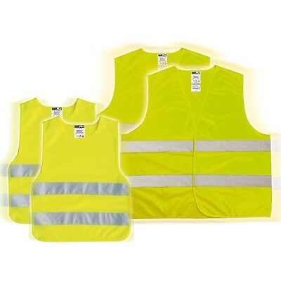 #Set familiar de chalecos reflectantes de seguridad, amarillo, ProPlus 540318