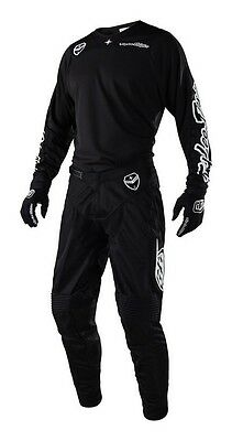 New 2018 Troy Lee SE Air Jersey Pant Kit Motocross 32 34 36 SOLO BLACK