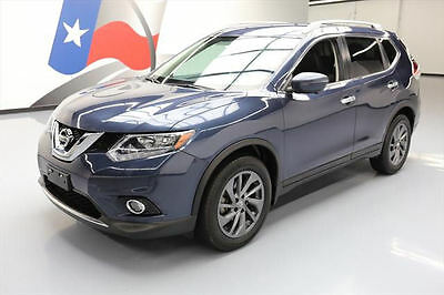 2016 Nissan Rogue  2016 NISSAN ROGUE SL HTD LEATHER NAV REAR CAM 13K MILES #782232 Texas Direct