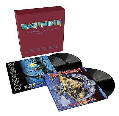 IRON MAIDEN 'NO PRAYER... / FEAR OF THE DARK' Collectors VINYL LP Box Set (2017)