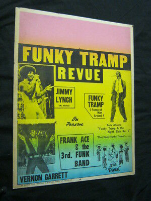Original 1970's JIMMY LYNCH FUNKY TRAMP Vernon Garrett FRANK ACE