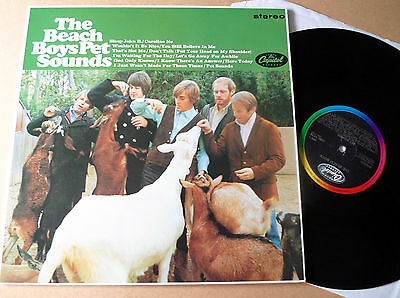 THE BEACH BOYS Pet Sounds LP Capitol Records EMS 1179 Stereo Remastered