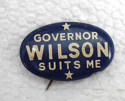 Governor Wilson Suits me Pin Iowa Governor 1943--1948!