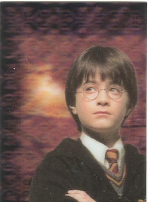 Harry Potter World Of Harry Potter 3D Series 1 Lenticular Chase Card PZ1