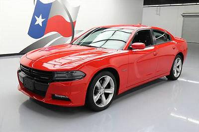 2016 Dodge Charger  2016 DODGE CHARGER R/T HEMI HTD SEATS SPOILER 20'S 32K #108648 Texas Direct Auto