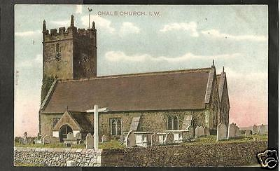 HEC Early Postcard, Chale Church, Isle of Wight