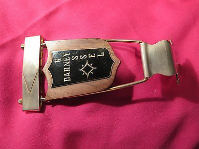 vintage 1960's Gibson Barney Kessel Tailpiece for archtop jazz guitar es 150 350