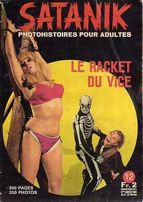 ROMAN-PHOTO SATANIK n° 12 le racket du vice../PHOTOHISTOIRE 1967