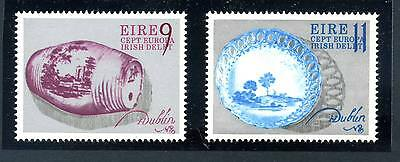 Ireland - Sg396-397 Mnh 1976 Europa - Irish Delft