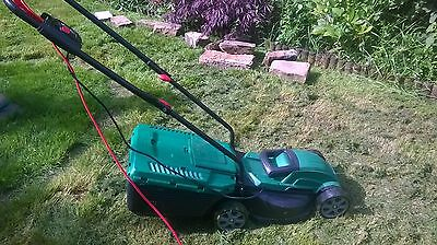 Qualcast 32cm 33L Corded Electric Rotary Lawnmower