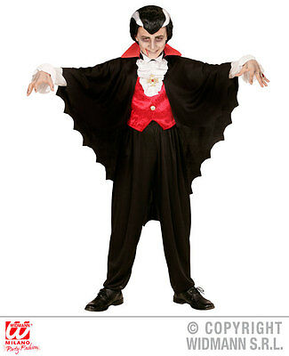 Mens VAMPIRE CAPE Accessory for Dracula Vamp Halloween Fancy Dress