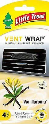 Little Trees Vent Wrap 4-Pack Vanillaroma