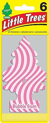 Little Trees Air Fresheners 6-Pack Bubble Gum