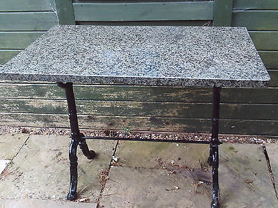 Garden / patio table with marble top