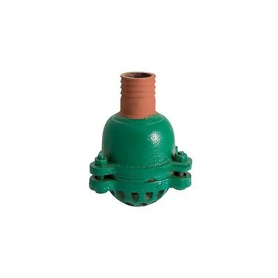 """2"""" Suction Foot Clack Valve Hose Strainer Water Pump 50mm Drainage Tail WR/F010"""